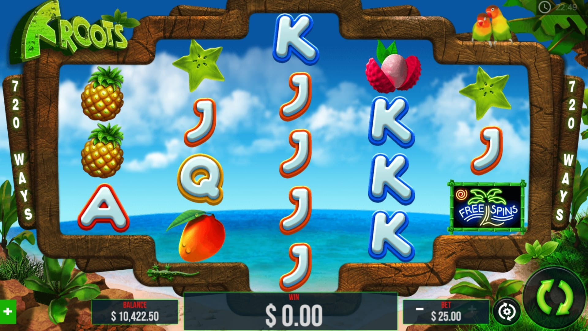 Froots Slot Game Gameplay