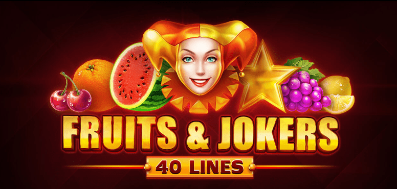 Fruits And Jokers 40 Lines Logo