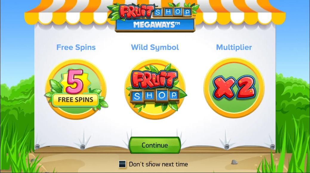 Fruit Shop Megaways Slots Free Spins