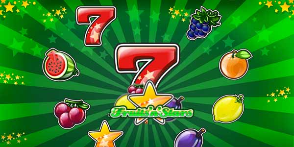 Fruits'n'Stars slots game logo