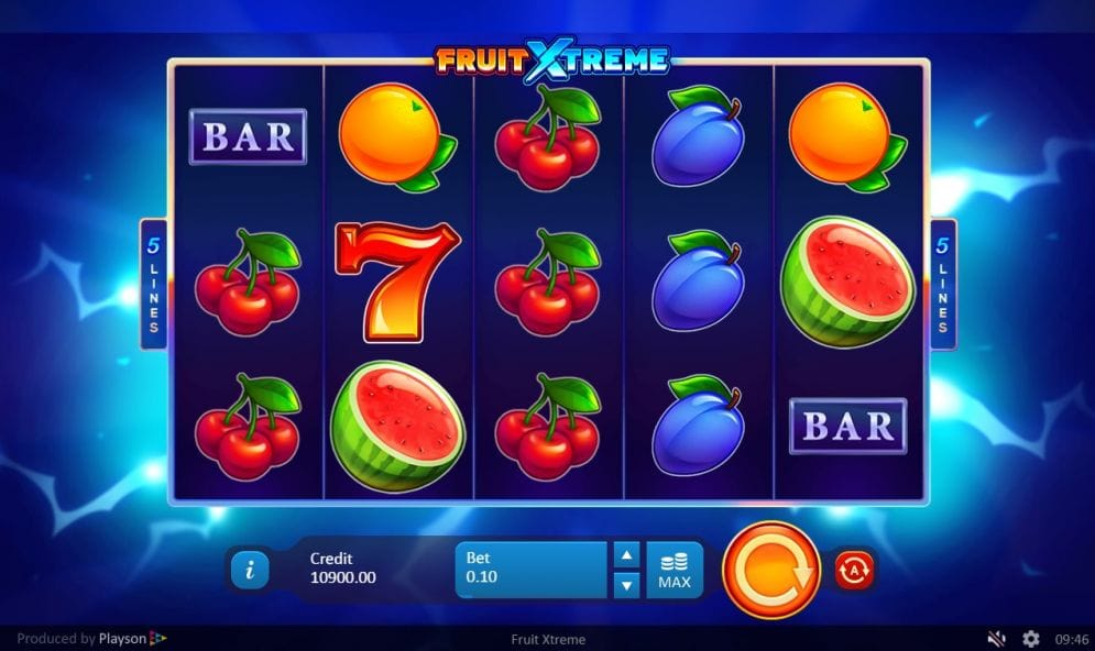 Fruit Xtreme: 5 Lines Slots Casino