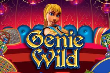 Genie Wild Slots Game logo