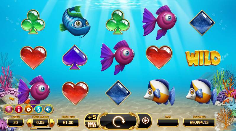 Golden Fishtank Screenshot
