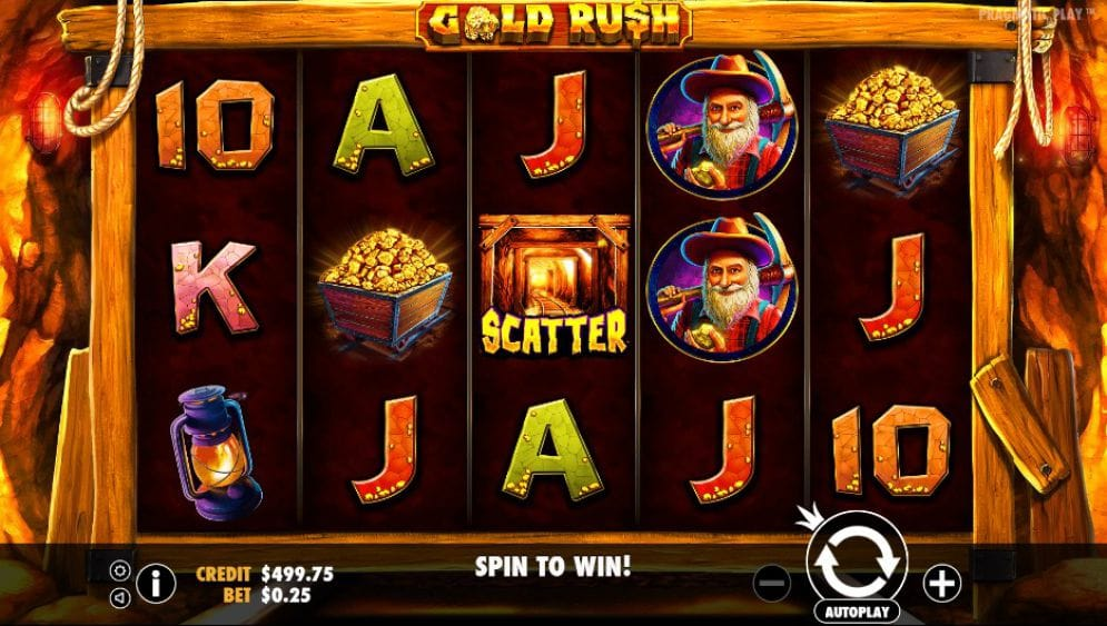 gold rush! gameplay