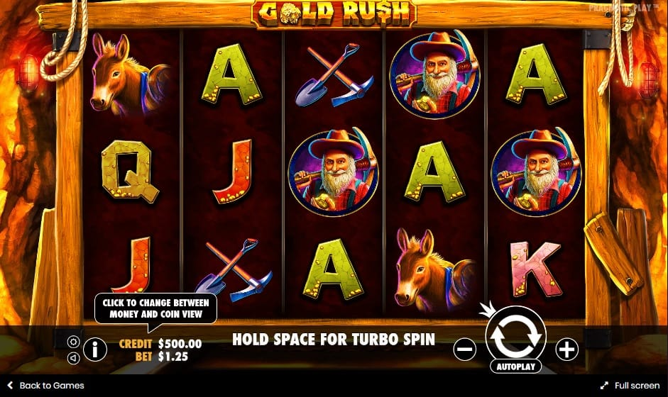 gold rush gameplay 2