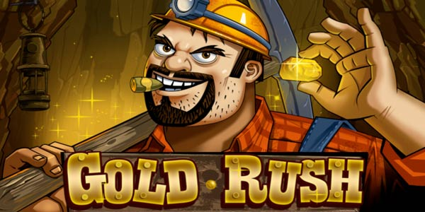 Gold Rush Slots Game logo