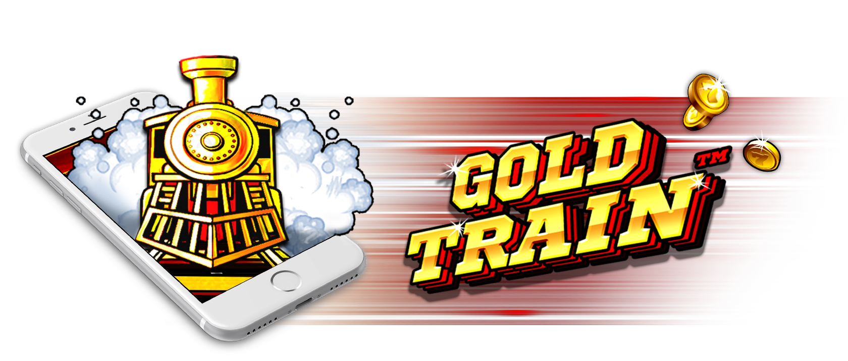 gold train slots game logo