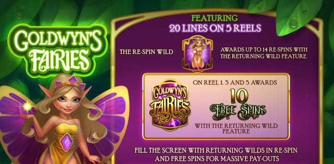 Goldwyn's Fairies Free Spin