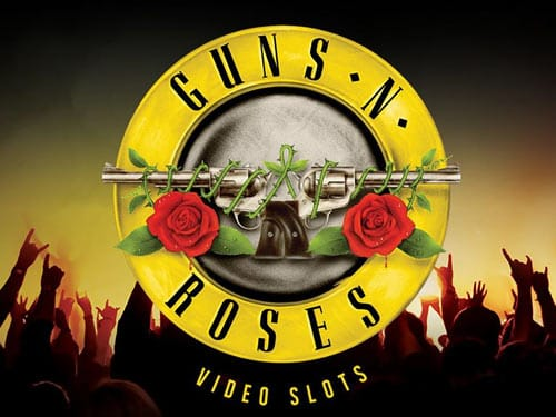 Guns and Roses Video Slot Logo