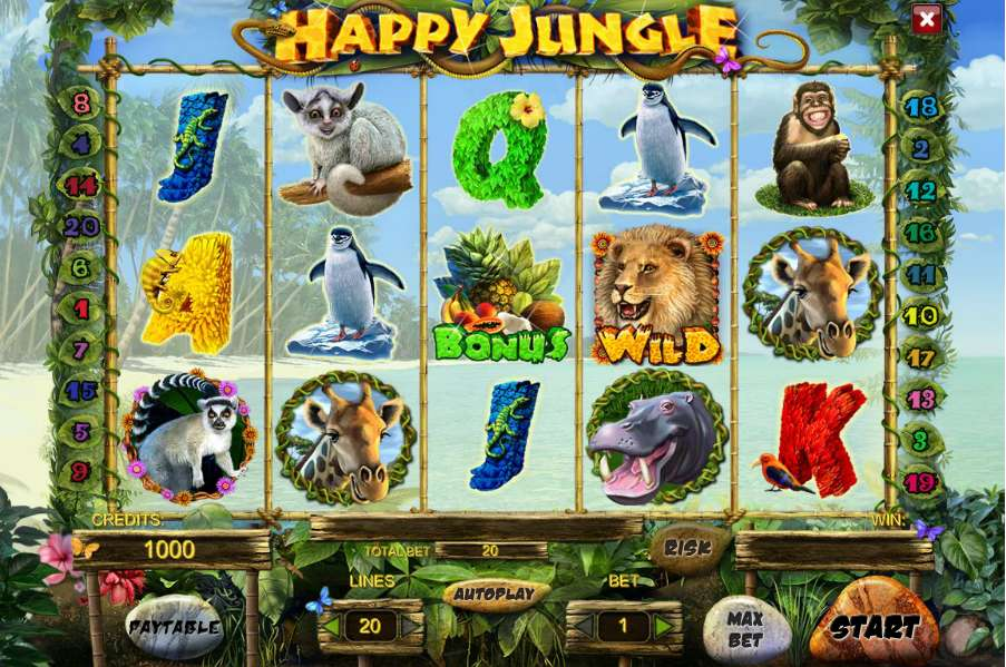 Happy Jungle Deluxe Gameplay
