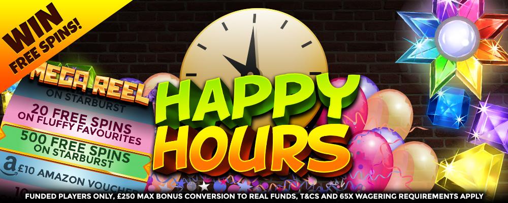 SlotsBaby - happyhour offer