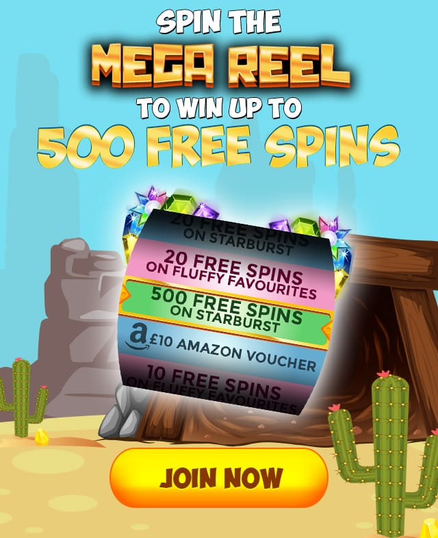 spin the mega reel