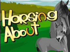 horsing about logo