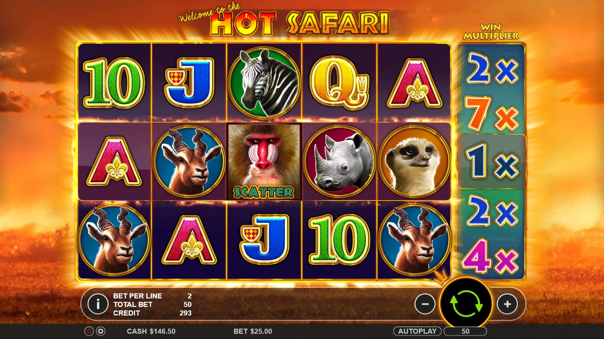 hot safari gameplay