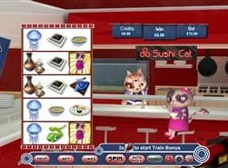 Sushi cat paytable