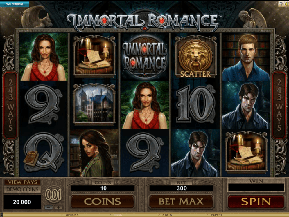 Immortal Romance Gameplay