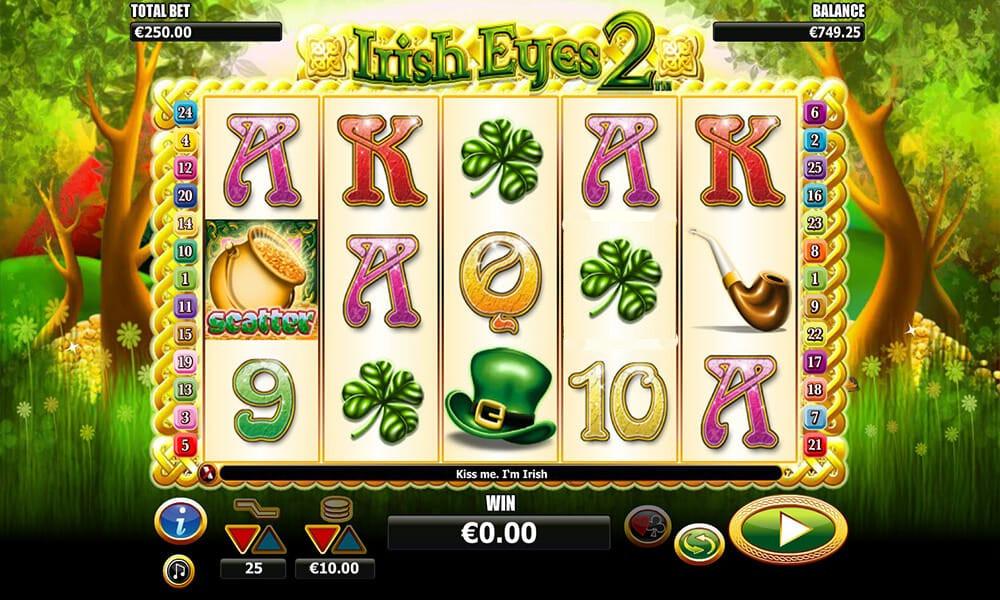 Irish Eyes 2 Gameplay