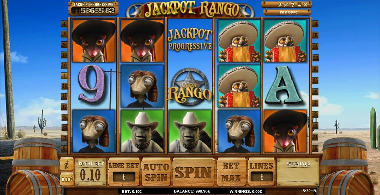 jackpot rango gameplay