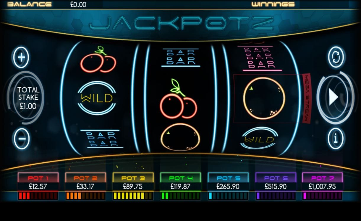 jackpotz gameplay