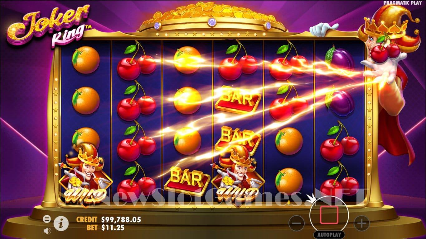 Joker King Slot Win