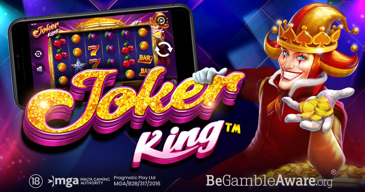 Joker King Slot Logo Slots Baby