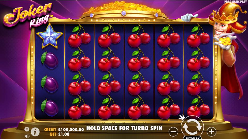 Joker King Slot Gameplay