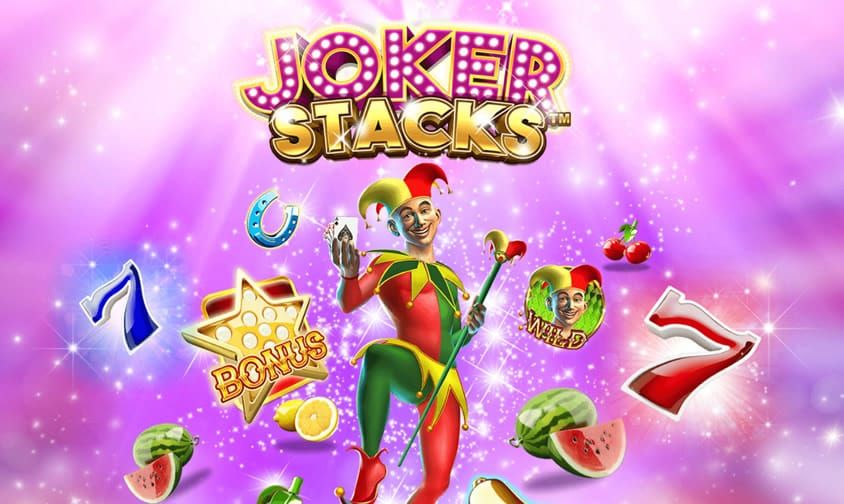Joker Stacks Slots Game Logo