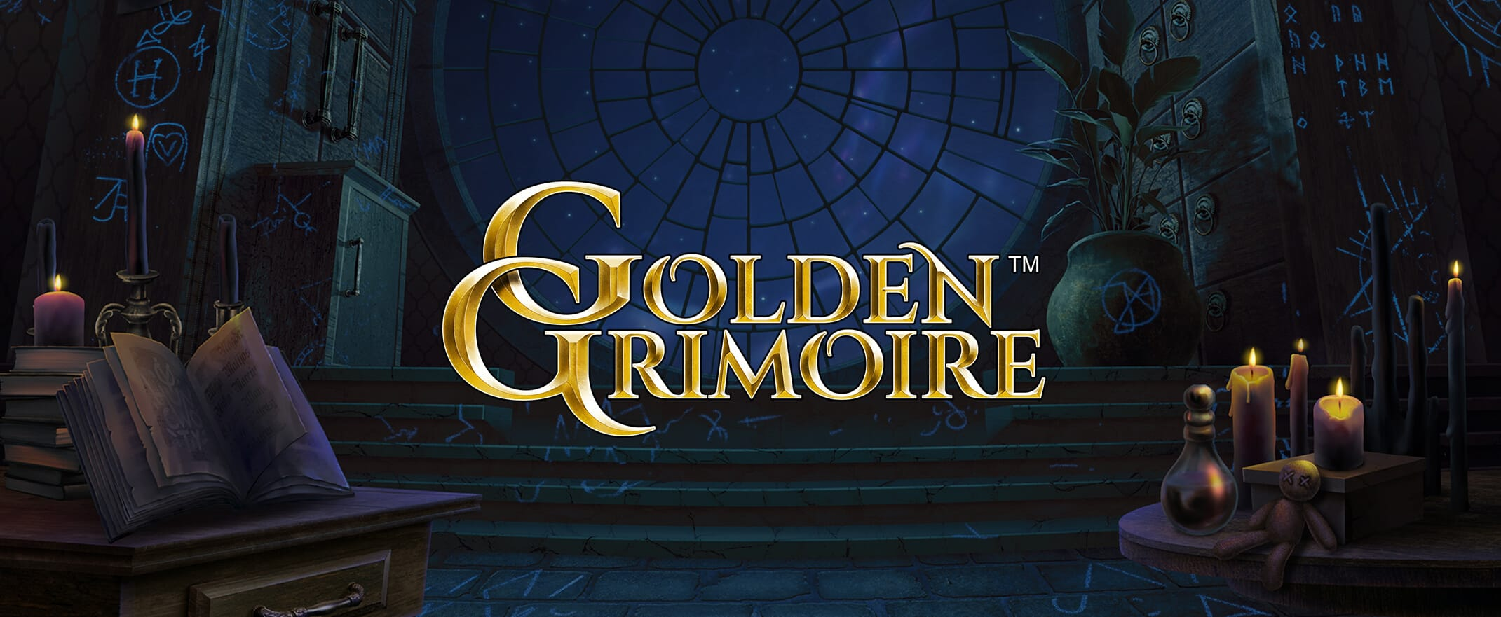 Golden Grimoire Slot Game by NetEnt