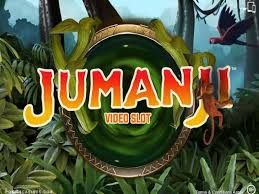 Jumanji video slot logo