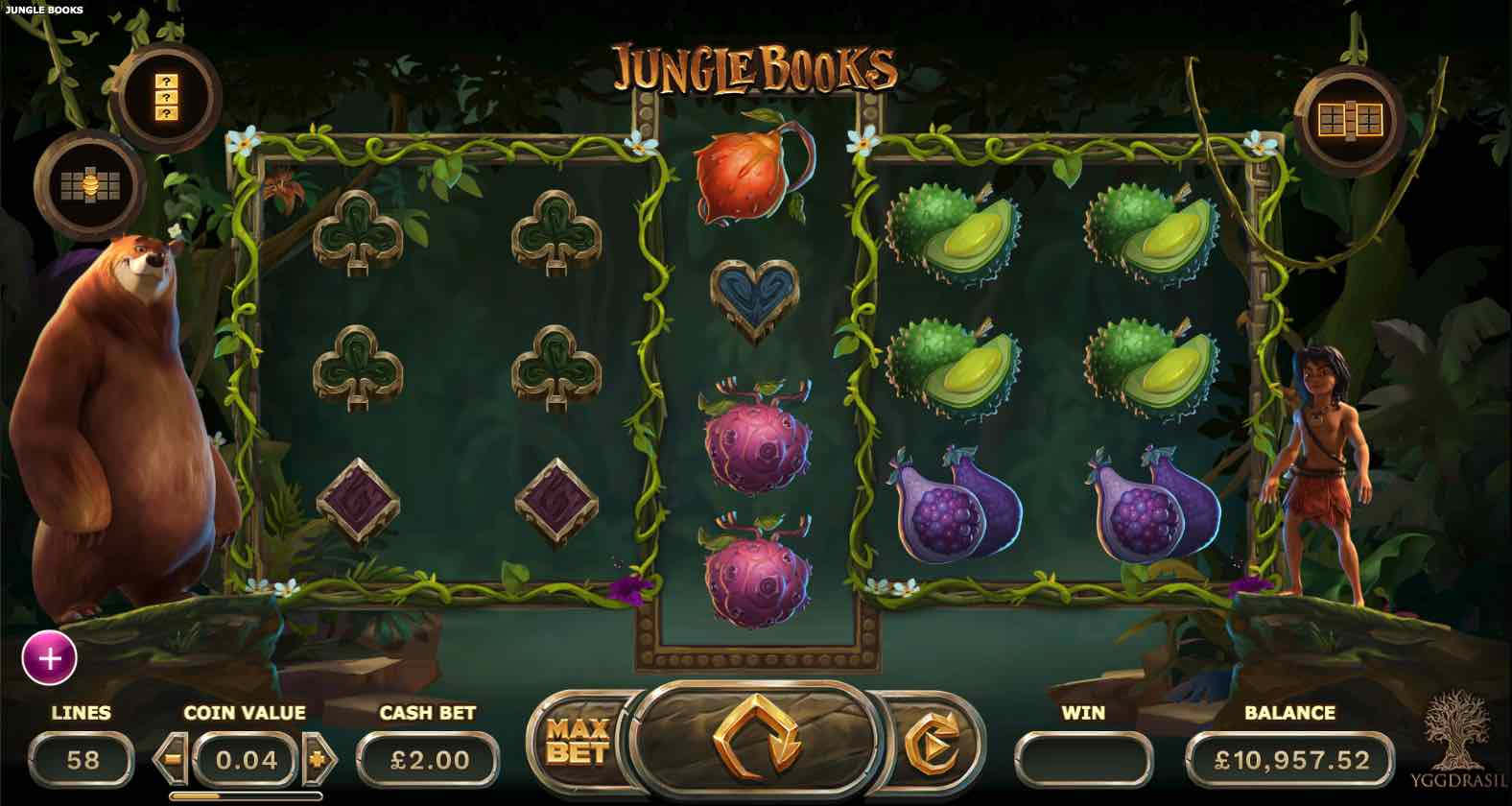 Jungle Books Gameplay