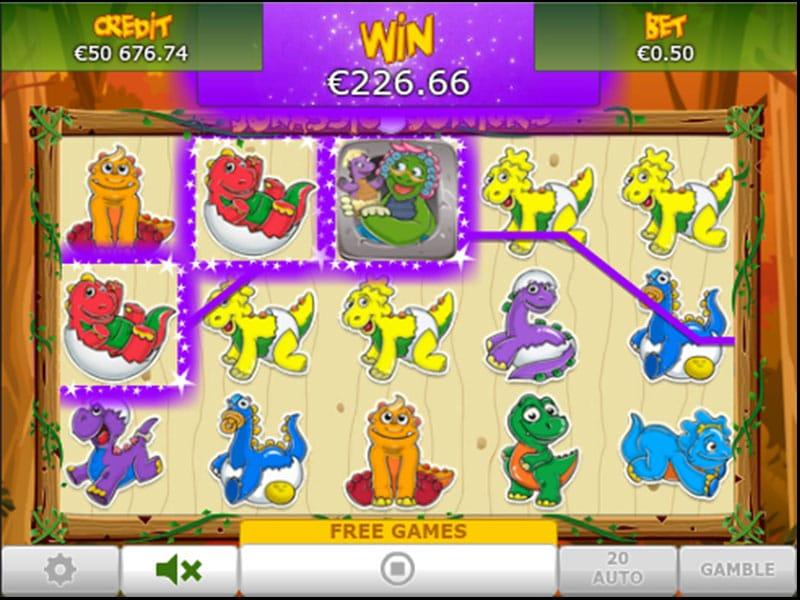 Jurassic Junior Gameplay