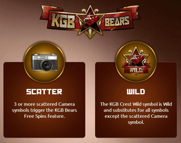 KGB Bears Symbols