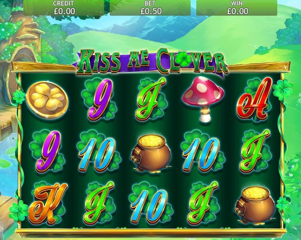 kiss me clover jackpot gameplay