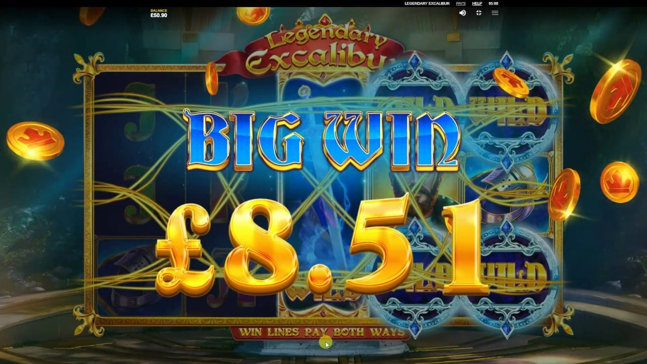 Legendary Excalibur Big Win