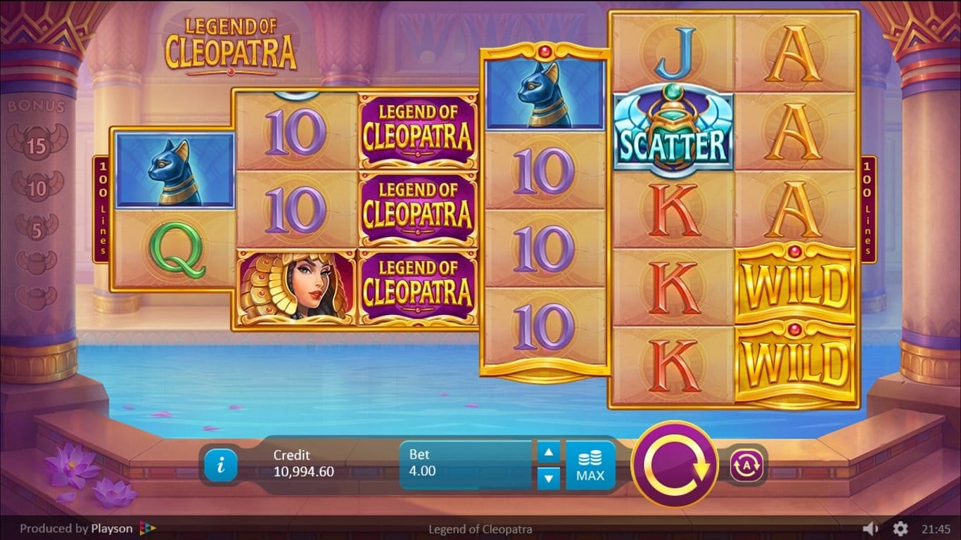 Legends of Cleopatra Gameplay