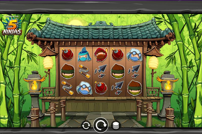 Legend Of The 5 Ninja Gameplay