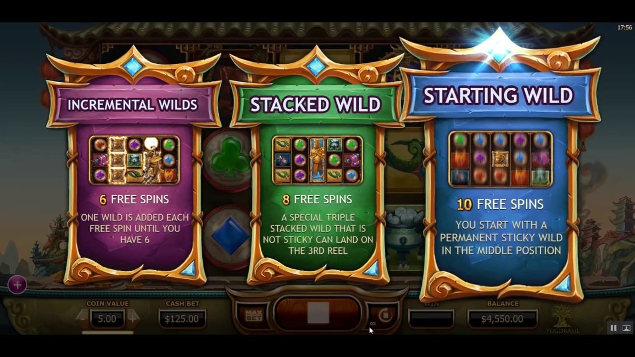 Legend of the Golden Monkey Slot Game Screenshot