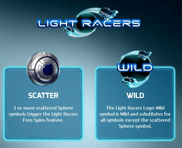 Light Racers Symbols