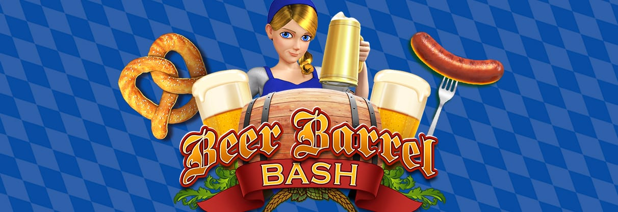 Beer Barrel Bash Slot Logo
