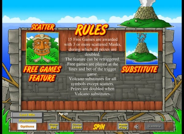 Lost Island Rules