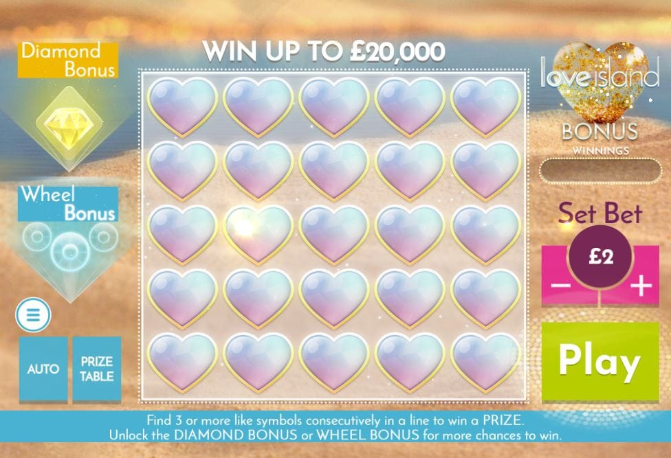 Love Island Bonus Gameplay
