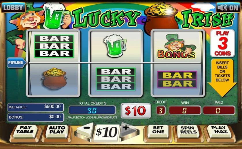 Lucky Irish Gameplay