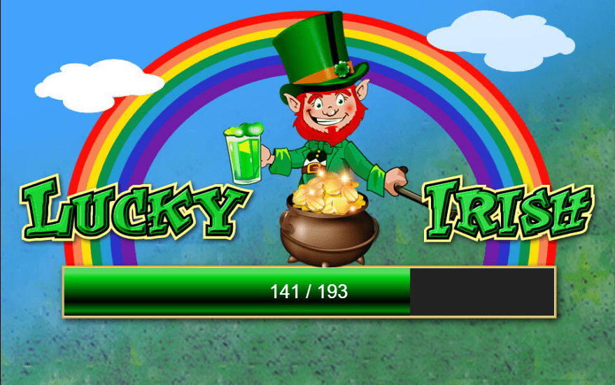Lucky Irish Slot Game Logo