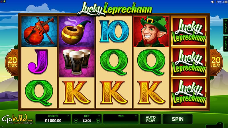 Lucky Leprechaun Gameplay