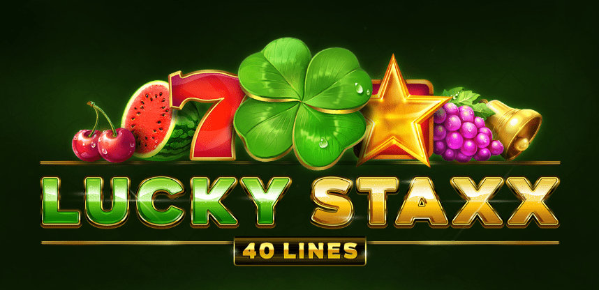 Lucky Staxx 40 Lines Logo