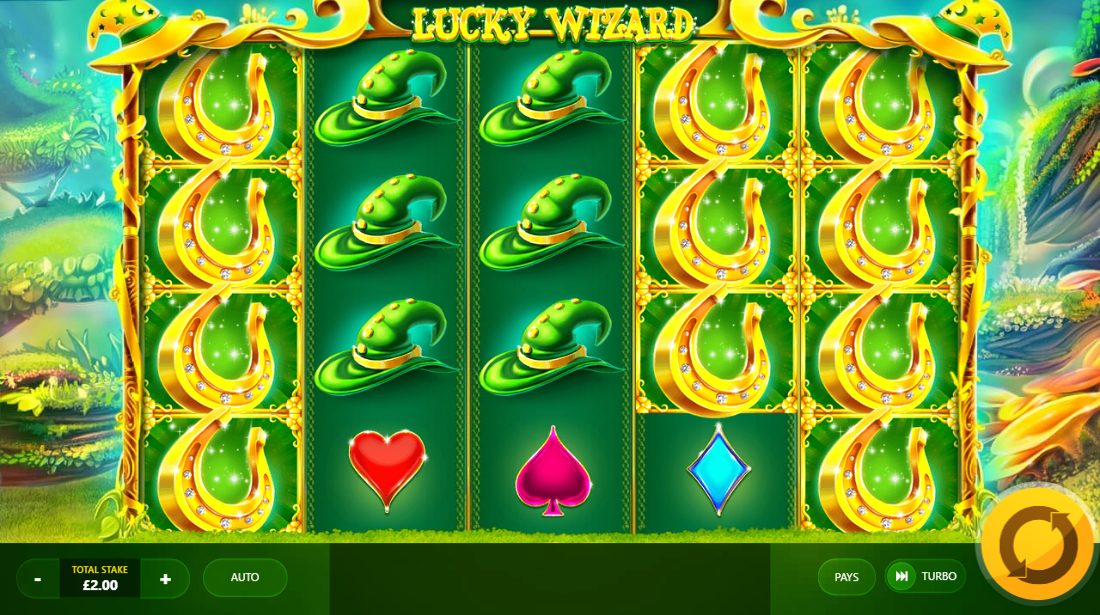Lucky Wizard Gameplay