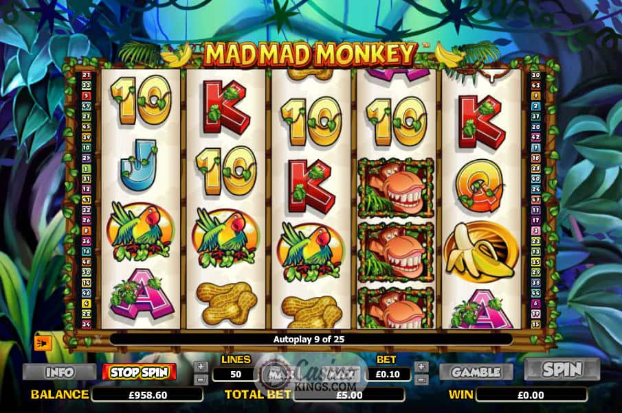 Mad Mad Monkey Gameplay 2