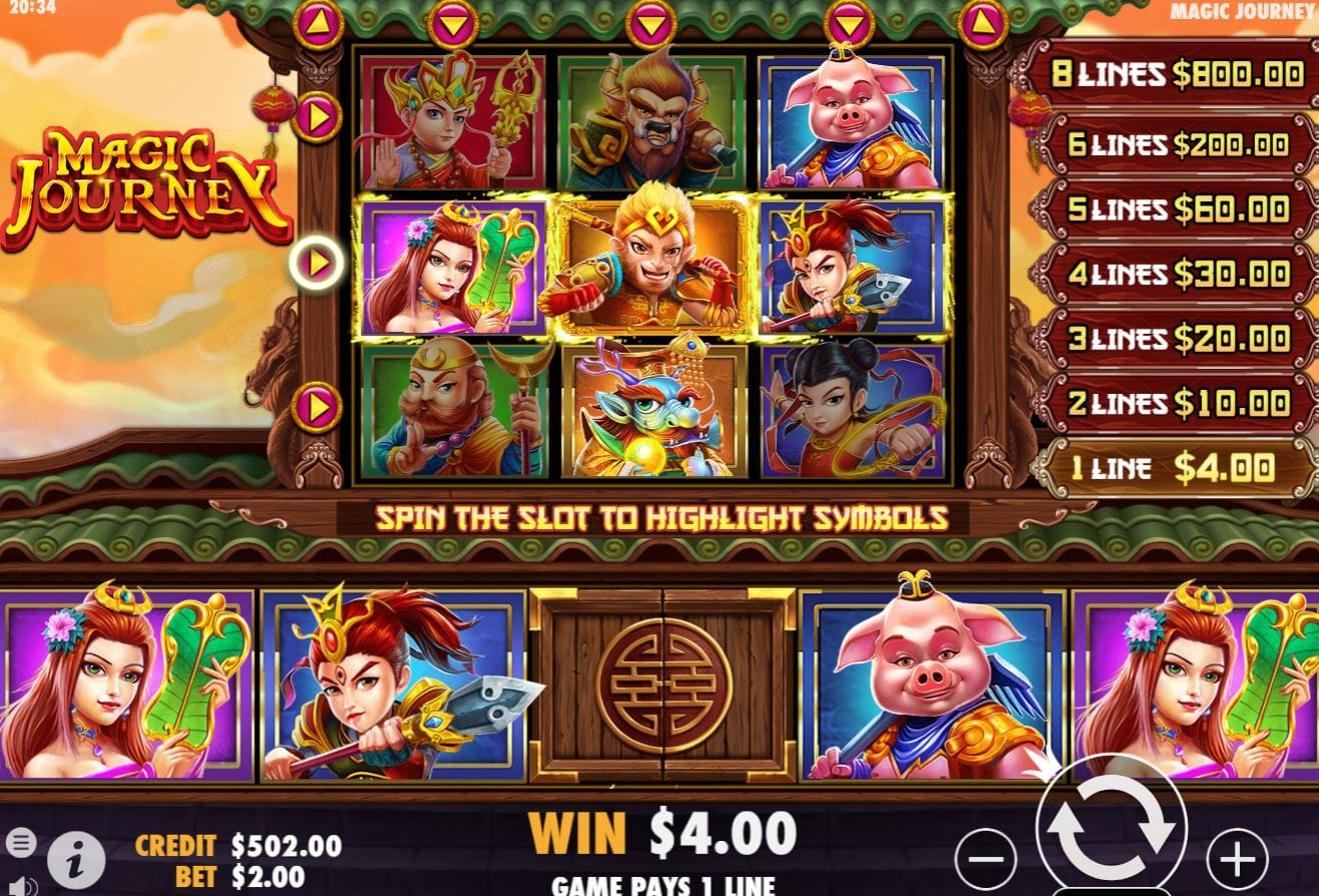 Magic Journey Casino Game