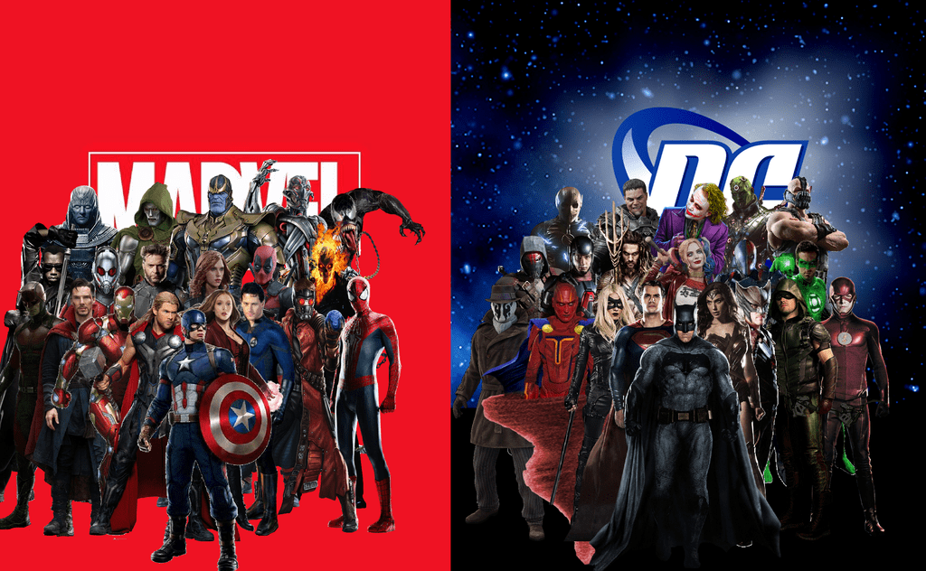 Marvel vs. DC slot games