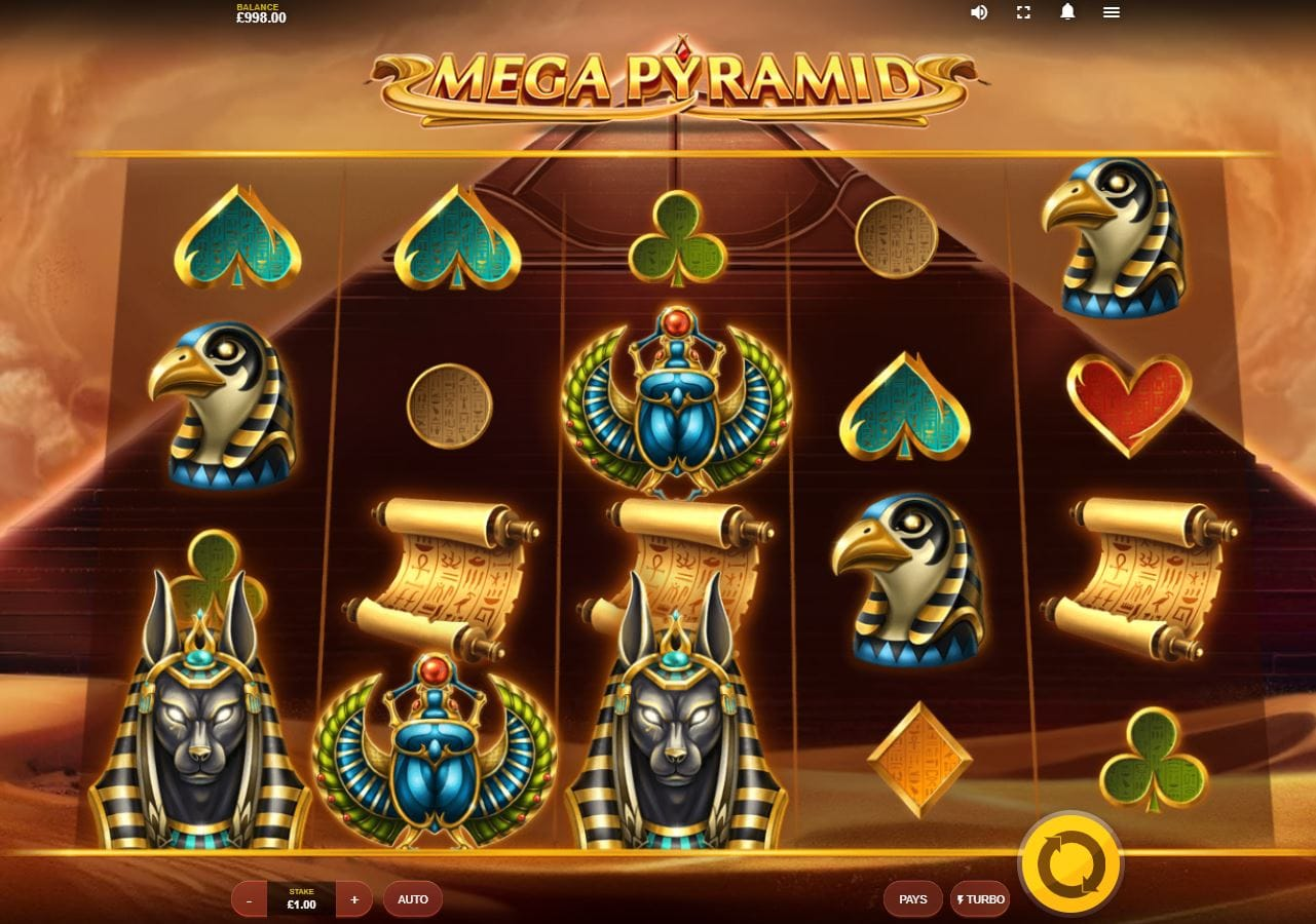 Mega Pyramid Online Slot Game